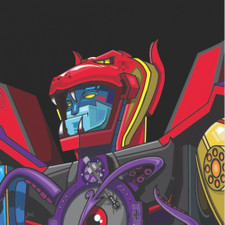 "Skratchy Seal - Super Seal Giant Robot Vol. 1 (Head) - 7"" Colored Vinyl"