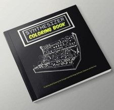 Synthesizer Coloring Book -   - Book
