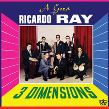"""Ricardo Ray - Three Dimensions - 12"""" Vinyl"""
