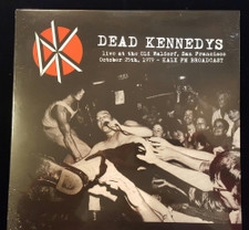 Dead Kennedys - Live At The Old Waldorf, SF Oct 25th, 1979 - LP Vinyl