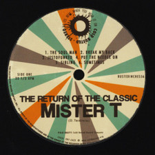 Mister T - Return Of The Classic - LP Vinyl