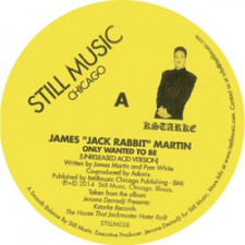 "James ""Jack Rabbit"" Martin - There Are Dreams And There Is Acid - 12"" Vinyl"