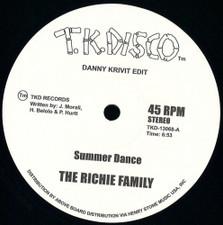 "The Richie Family / Wild Honey - Danny Krivit Edits - 12"" Vinyl"