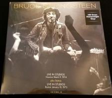 Bruce Springsteen - Live In Studios: Houston 3/9/74 & Boston 1/10/73 - LP Vinyl