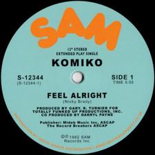 """Komiko - Feel Alrigh - 12"""" Vinyl"""