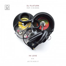 "DJ Platurn feat E Da Boss - In Love - 7"" Vinyl"