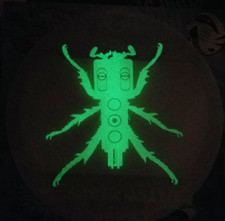 Frosted Butter Rugs - Beedle (Glow In The Dark) - Slipmats (Pair)