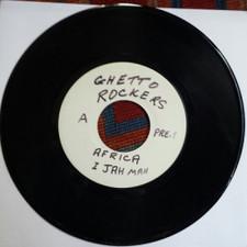 "Ghetto Rockers - Africa / Free Ganja - 7"" Vinyl"
