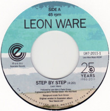 "Leon Ware - Step By Step - 7"" Vinyl"
