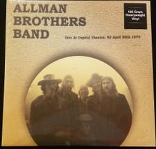 Allman Brothers Band - Live At Capitol Theater, NJ April 20th 1979 - LP Vinyl