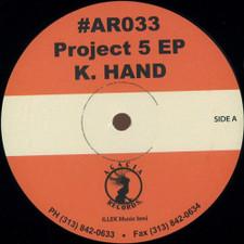 "K. Hand - Project 5 Ep - 12"" Vinyl"