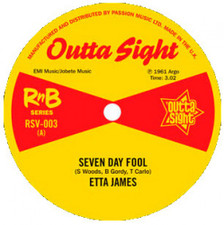 "Etta James - Seven Day Fool - 7"" Vinyl"