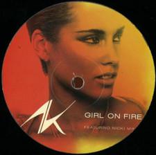 "Alicia Keys - Girl On Fire Remixes - 12"" Vinyl"