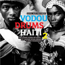 Drummers Of The Societe Absolument Guinin - Vodou Drums In Haiti 2 (Living Gods Of Haiti: 21st Century Ritual Drums & Spirit Possession) - 2x LP Vinyl