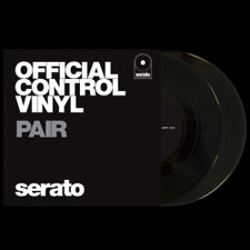 "Serato Performance Series - 7"" Control Vinyl Black - 2x 7"" Vinyl"