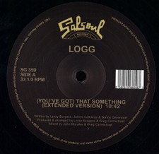 "Logg - (You've Got) That Something / Dancing Into The Stars - 12"" Vinyl"