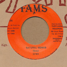 "Sena / Tuff Gong All Stars - Natural Woman - 7"" Vinyl"