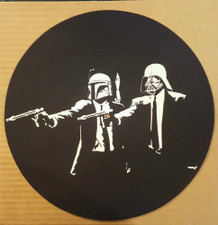 Pulp Star Wars - Glow In The Dark - Single Slipmat