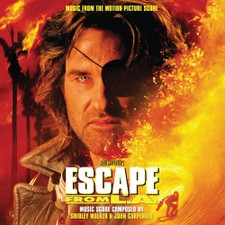 Shirley Walker & John Carpenter - Escape From L.A. (Music From The Motion Picture) - 2x LP Colored Vinyl