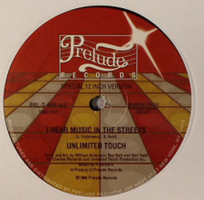 "Unlimited Touch - I Hear Music In The Streets - 12"" Vinyl"