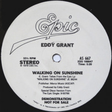 "Eddy Grant - Walking On Sunshine / Electric Avenue - 12"" Vinyl"