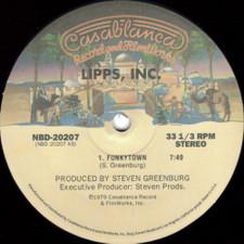 """Lipps, Inc. / Irene Cara - Funkytown / Flashdance - 12"""" Vinyl"""