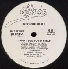 "George Duke - I Want You For Myself / Reach For It - 12"" Vinyl"