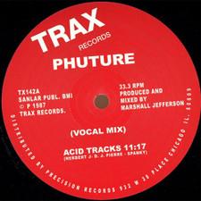 "Phuture - Acid Trax - 12"" Vinyl"