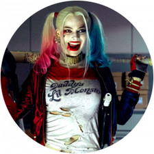 Harley Quinn - Smile - Single Slipmat
