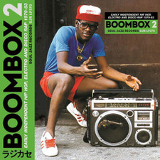 Various Artists - Boombox 2 (Early Indie Hip Hop, Electro & Disco Rap 1979-83) - 3x LP Vinyl