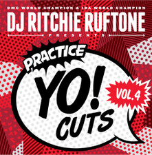 Dj Richie Ruftone - Practice Yo! Cuts Vol. 4 - LP Vinyl