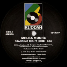 "Melba Moore - Standing Right Here / Make Me Believe In You - 12"" Vinyl"