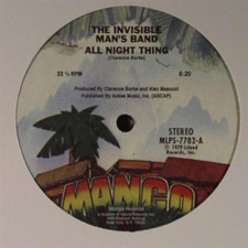 """Invisible Man's Band - All Night Thing - 12"""" Vinyl"""