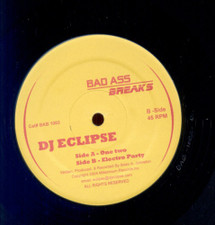 "DJ Eclipse - One Two / Electro Party - 12"" Vinyl"