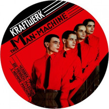 Kraftwerk - Man Machine - Single Slipmat