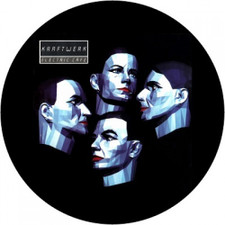 Kraftwerk - Electric Café - Single Slipmat