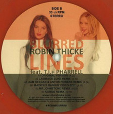 """Robin Thicke - Blurred Lines - 12"""" Vinyl"""