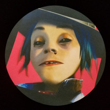 Gorillaz - 2D - Single Slipmat