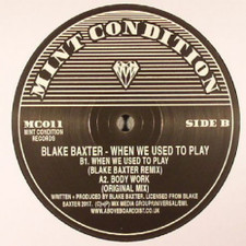 "Blake Baxter - When We Used To Play - 12"" Vinyl"