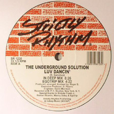 "Underground Solution - Luv Dancin' - 12"" Vinyl"