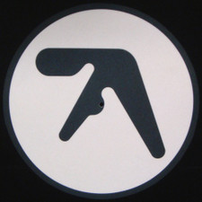 Aphex Twin - Logo White - Single Slipmat