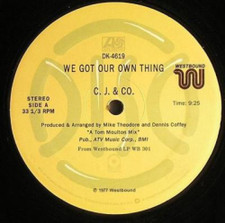 """Cj & Co - We Got Our Own Thing - 12"""" Vinyl"""
