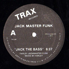 "Jack Master Funk - Jack The Bass/Love Can't Turn Around - 12"" Vinyl"