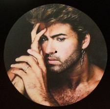 George Michael - Is a Hunk - Single Slipmat
