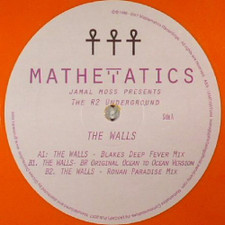 "Jamal Moss Presents The R2 Underground - The Walls - 12"" Colored Vinyl"