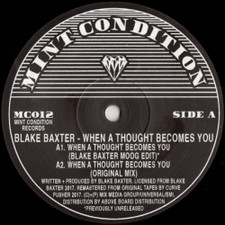 "Blake Baxter - When A Thought Becomes You - 12"" Vinyl"