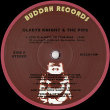 "Gladys Knight & The Pips - Love Is Always On My Mind - 12"" Vinyl"