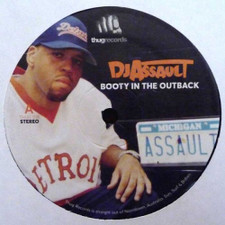 "DJ Assault - Booty In The Outback - 12"" Vinyl"