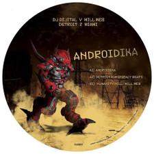 """DJ Di'jital & Will Web - Androidika - 12"""" Vinyl"""