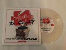 "Texas Scratch League / Kracker Nuttz - The Almighty - 7"" Clear Vinyl"